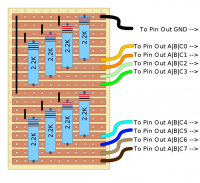 Strip board Layout