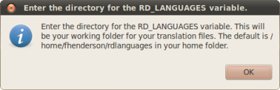Setenvvar.sh Enter directory for the RD LANGUAGES variable info.png